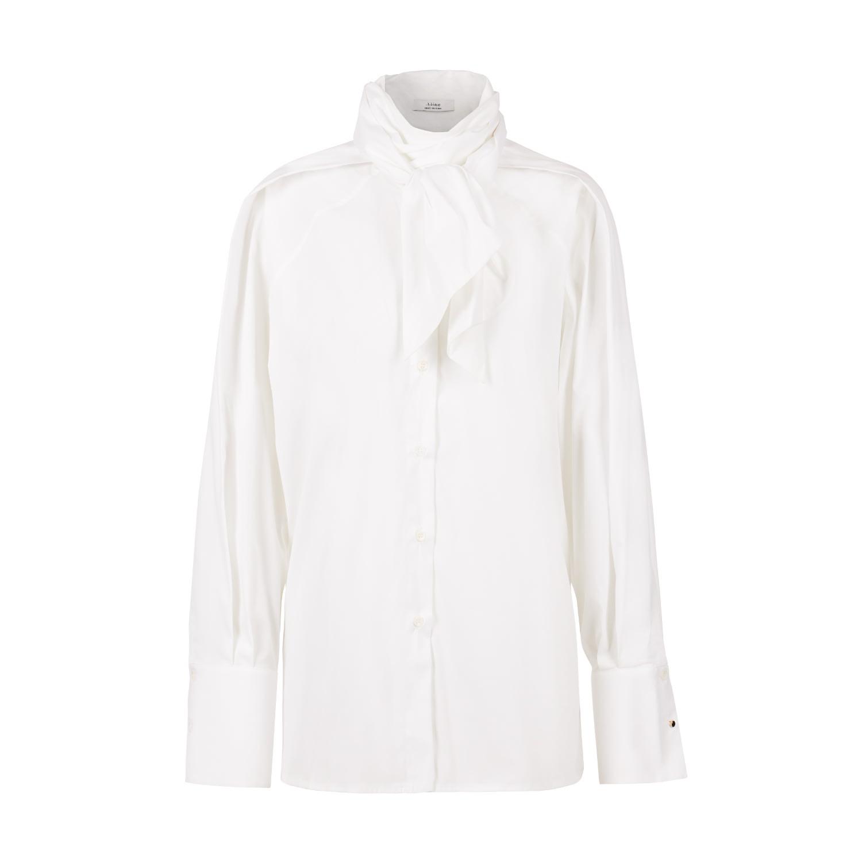 A-line Clothing - Neck Tie Blouse
