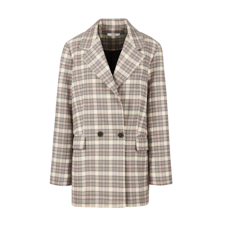 A-line Clothing - Oversized Cotton Blazer