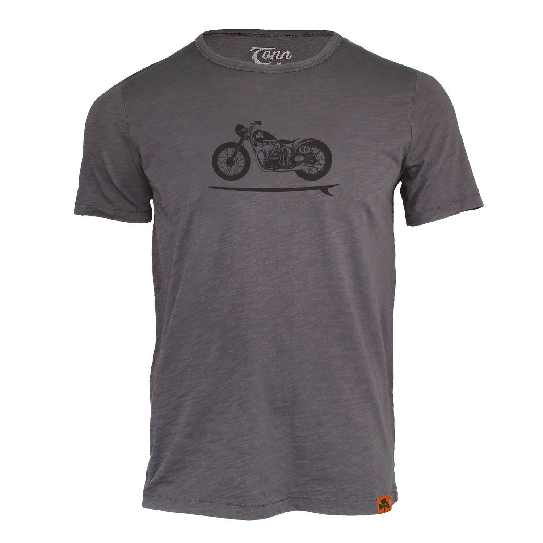 Tonn - Bike Board Tee Grey