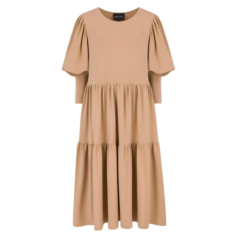 Monica Nera - Tamara Sport Cotton Dress - Camel