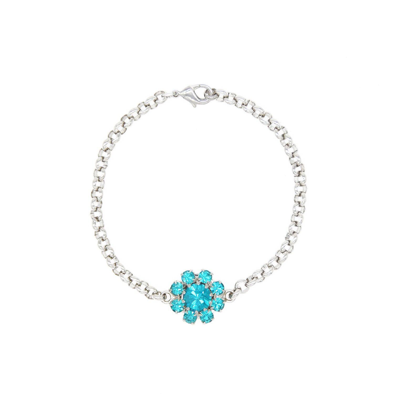 Rosaspina Firenze - Florentine Garden Bracelet In Blue Zircon