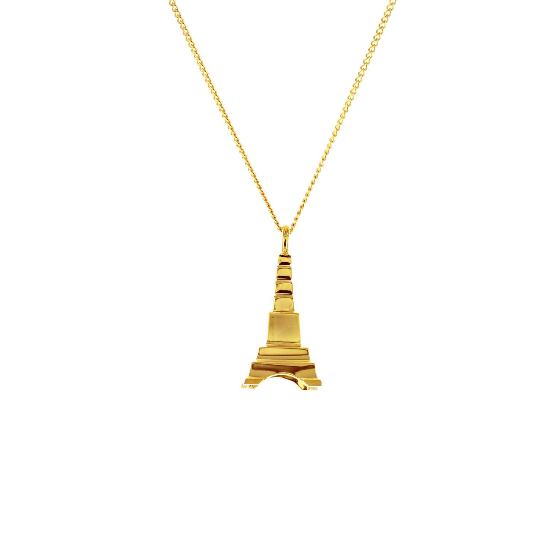 Origami Jewellery - Mini Eiffel Tower Gold