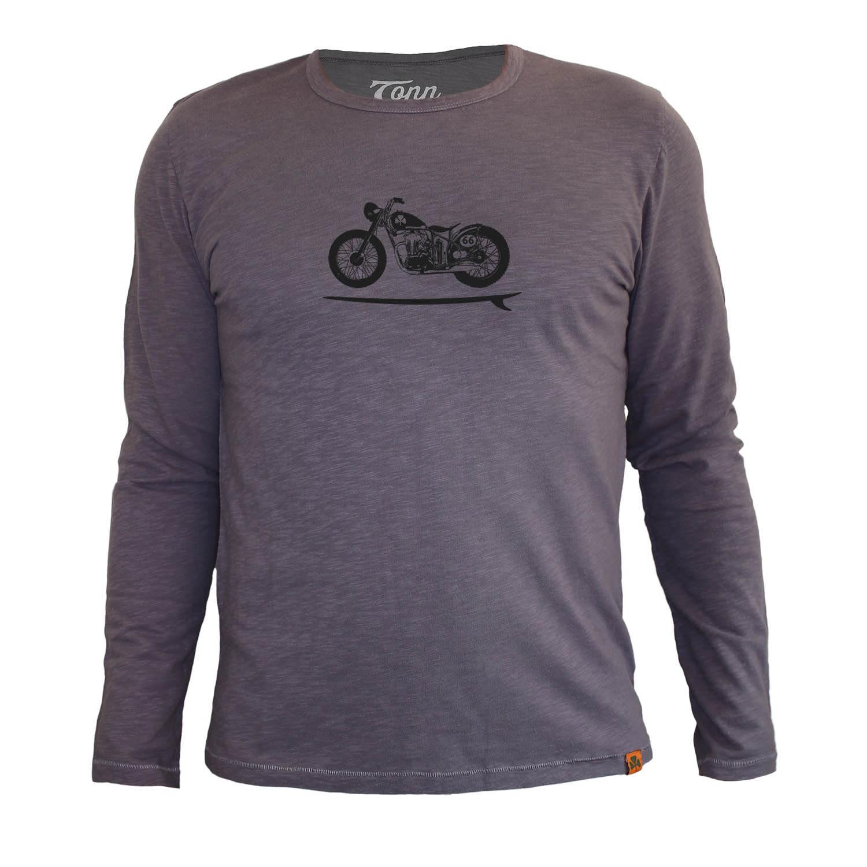 Tonn - Bike Board Long Sleeve Tee Grey