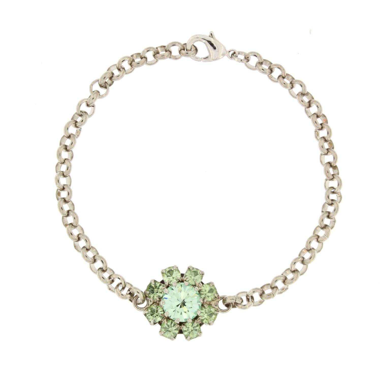 Rosaspina Firenze - Florentine Garden Bracelet In Green Chrysolite