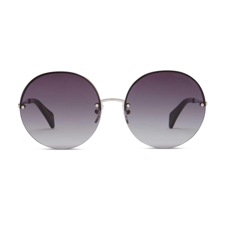 Oliver Goldsmith Sunglasses - The 1970's Smoke & Armani Gold Silver