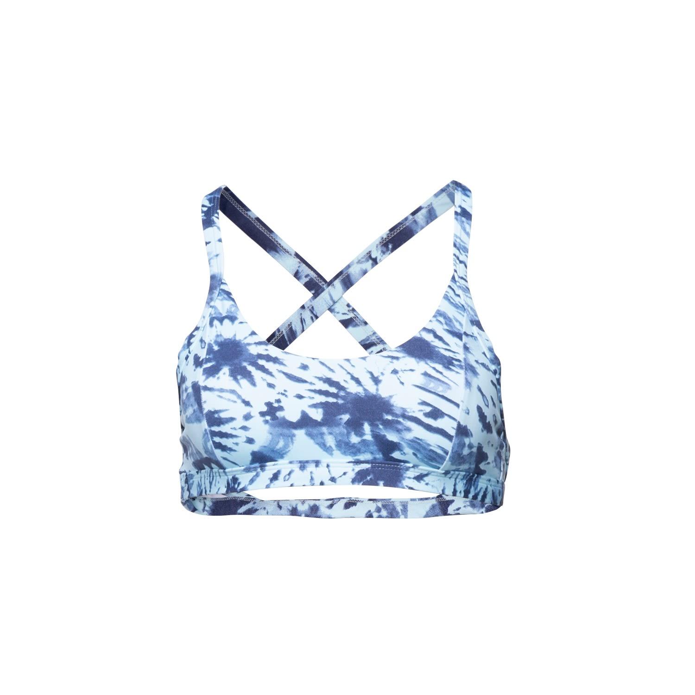 Passion Fruit Beachwear - Satya Sports Bra - Blue Tie Dye