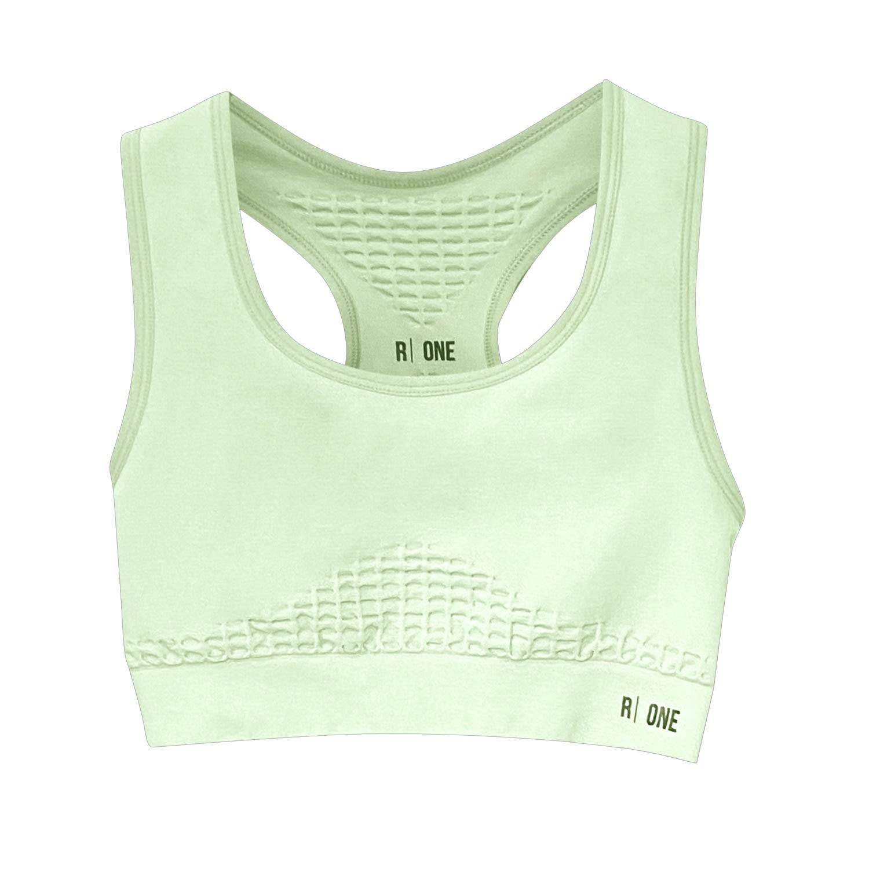 Reflexone - B-Confident Q-Nova® Regenerated Material Nylon Sports Bra - Misty Jade