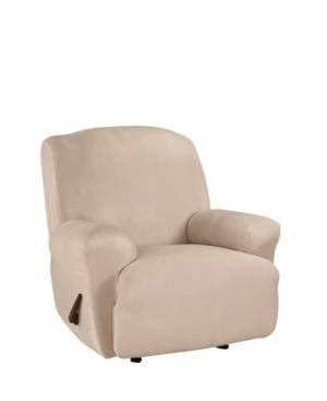 Sure Fit One Piece Slipcover  - Cement