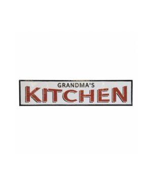 "Vip Home & Garden Vip Home International Metal ""Grandmas Kitchen"" Sign"