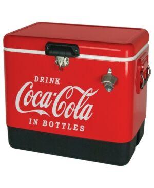 Koolatron Coca-Cola Stainless Steel Ice Chest  - Red