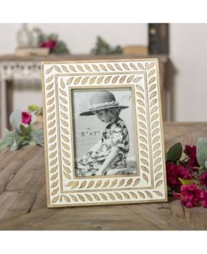"""Vip Home & Garden 5"""" x 7"""" Multi Wood Picture Frame  - Brown"""