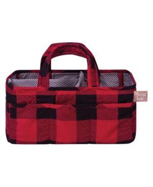 Trend Lab Buffalo Check Storage Caddy Bedding  - Multi