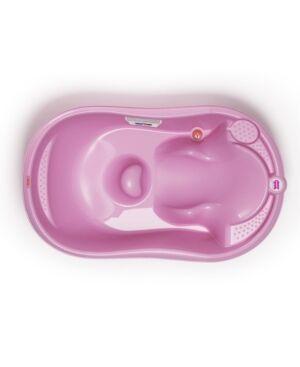 Okbaby Wave Baby Bath Tub  - Pink