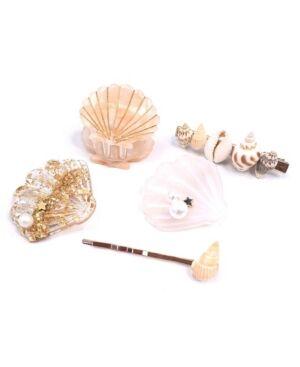 Soho Style Mermaid Hair Clip, Set of 5  - Multi