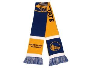 Forever Collectibles Golden State Warriors Colorblock Cropped Big Logo Scarf  - Assorted