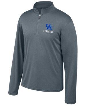 Top of the World Men's Kentucky Wildcats Turbine Quarter-Zip Pullover  - Charcoal