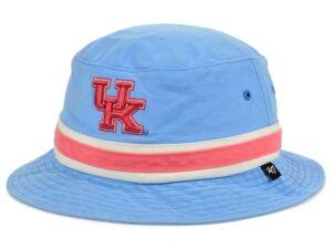 '47 Brand Kentucky Wildcats Boathouse Bucket Hat  - LightBlue