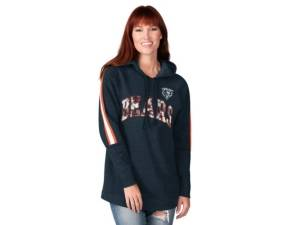 G-iii Sports Chicago Bears Women's Double Team Tunic Hoodie  - Assorted