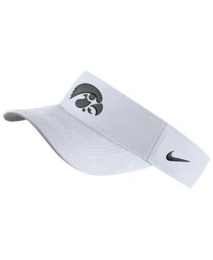 Nike Iowa Hawkeyes Dri-Fit Visor  - White