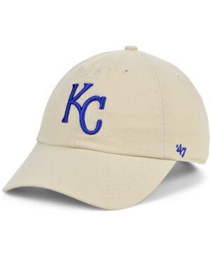 '47 Brand Kansas City Royals Bone Clean Up Cap  - Natural