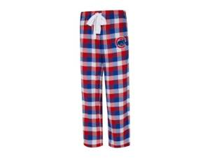 Concepts Sport Chicago Cubs Women's Breakout Plaid Pajama Pants  - RoyalBlue/Red