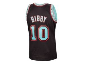 Mitchell & Ness Men's Vancouver Grizzlies Reload Collection Swingman Jersey - Mike Bibby  - Black