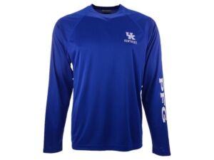 Columbia Kentucky Wildcats Men's Terminal Tackle Long Sleeve T-Shirt  - RoyalBlue