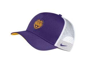 Nike Lsu Tigers Aero Trucker Cap  - Purple/White