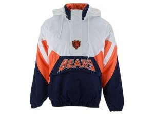 G-iii Sports Chicago Bears Men's The Line Up Jacket  - White/Navy