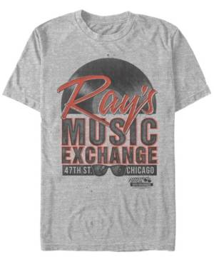 The Blues Brothers Men's Ray's Music Exchange Short Sleeve T-Shirt  - Athletic H