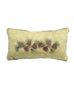 American Heritage Textiles Cabin Raising Pine Cone Cotton Quilt Collection, Accessories Bedding  - Multi
