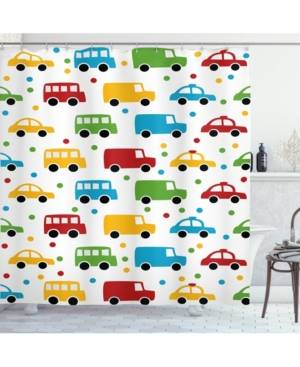 Ambesonne Cars Shower Curtain Bedding  - Multi