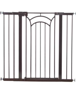 Cosco Safety 1st Easy Install Decor Tall & Wide Gate  - Brown