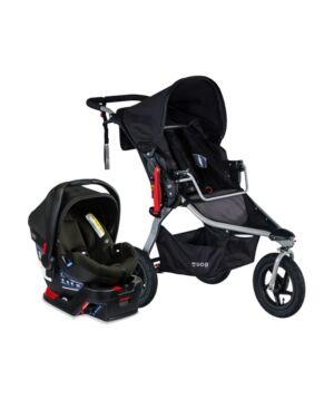 Bob Gear Rambler Travel System with B-Safe Gen2 Infant Car Seat  - Black