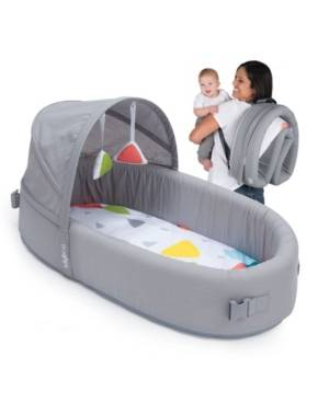 Lulyboo Bassinet To-Go Baby Travel Bed  - Gray