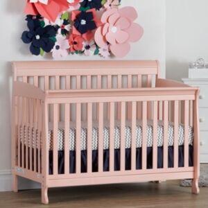 Centennial Suite Bebe Riley 4-In-1 Convertible Crib  - Coral