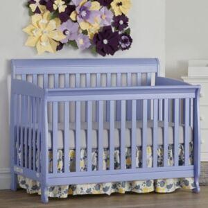 Centennial Suite Bebe Riley 4-In-1 Convertible Crib  - Lilac