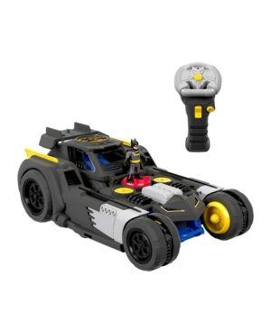 Fisher Price Imaginext Dc Super Friends Transforming Batmobile Rc Car