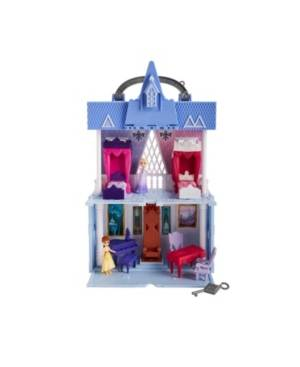 Frozen Disney Frozen 2 Movie Pop Adventures Arendelle Castle Playset With Handle, Including Elsa Doll, Anna Doll, and 7 Accessories