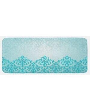 Ambesonne Printed Kitchen Mat  - Blue