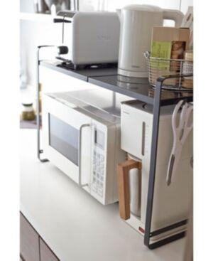 Yamazaki Tower Expandable Kitchen Counter Organizer  - Black
