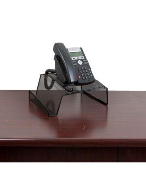 Mind Reader Metal Desktop Phone Stand, 2 Pack  - Black