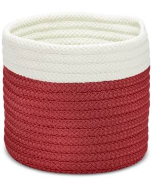 """Colonial Mills 10"""" x 8"""" Outdoor Living Basket  - Red"""
