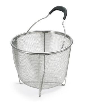 Polder Strainer Steamer Basket  - Gray