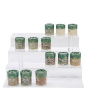 Mind Reader 4-Tier Spice Rack Pantry Kitchen Cabinet Organizer  - No Color