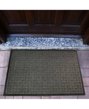 Floortex Doortex Rib Mat Heavy Duty Indoor and Outdoor Entrance Mat Bedding  - Gray