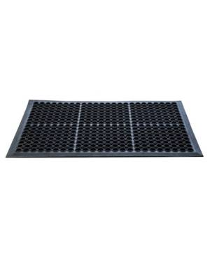 Floortex Doortex All Seasons Heavy Duty Outdoor Entrance Mat Bedding  - Black