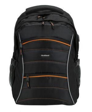 Rockland Smart Gear Usb Laptop Backpack  - Black