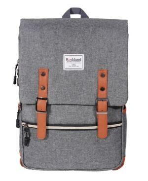 Rockland Heritage Laptop Backpack  - Grey