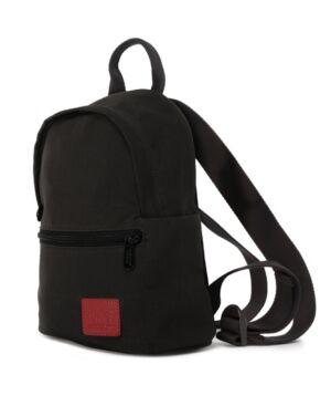 Manhattan Portage Waxed Nylon Randall's Backpack  - Black